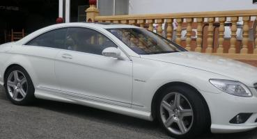 Mercedes 500 CL Coupe